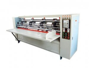 Thin Blade Corrugated Cardboard Creasing Slitting Machine