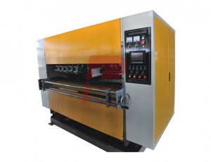 NC Corrugated Cardboard Creasing SlitterCutting Machine