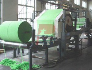 Crepe Paper Making Machine