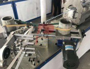 Mini paper core paper straw making machine