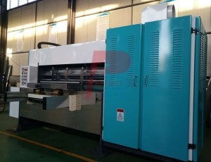 Auto small corrugated box slotter printer