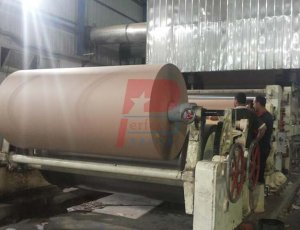 1400 mm width 6 ton capacity craft paper making machine