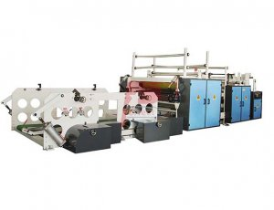 1-3 Ply Toilet Tissue Paper Rolls Making Rewinding Machine