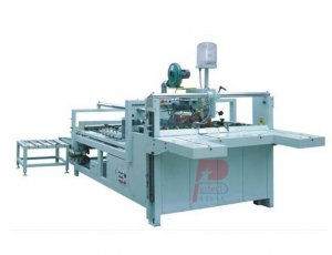 Semi-Auto Carton Cardboard Box Gluing Forming Machine