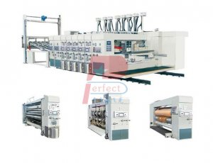 Corrugated Carton Box Printing Die Cutting Machine