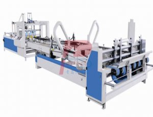 Auto Corrugated Carton Box Folding Gluer Machine